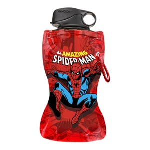 Spider-Man 12-Ounce Collapsible Water Bottle