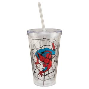 Spider-Man 12-Ounce Acrylic Travel Cup