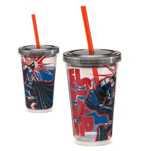 Star Wars Darth Vader 12-Ounce Acrylic Travel Cup