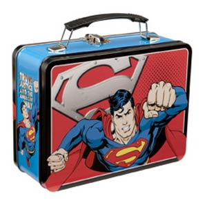 Superman Large Tin Tote