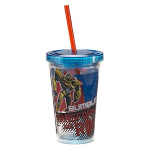 Transformers 12-Ounce Acrylic Travel Cup