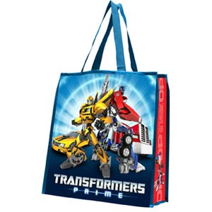 Transformers Large Recycle Shopper Tote