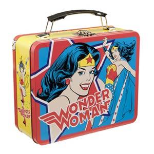 Wonder Woman Large Tin Tote