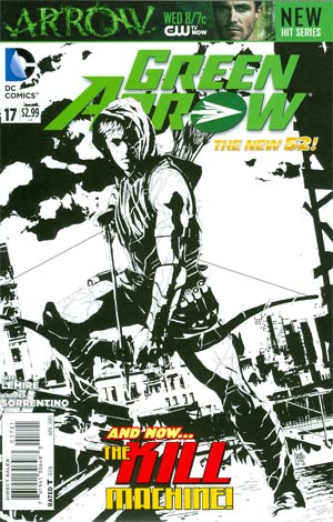 Green Arrow Vol 6 #17 Incentive Andrea Sorrentino Sketch Cover