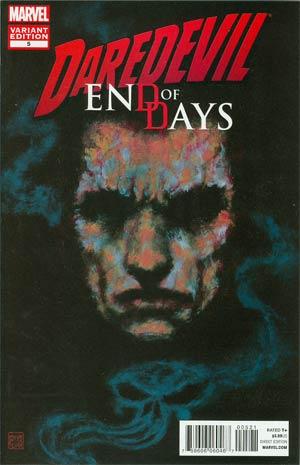 Daredevil End Of Days #5 Incentive David Mack Variant Cover