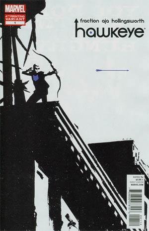 Hawkeye Vol 4 #1 4th Ptg David Aja Variant Cover