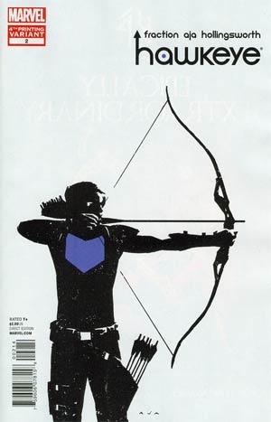 Hawkeye Vol 4 #2 4th Ptg David Aja Variant Cover