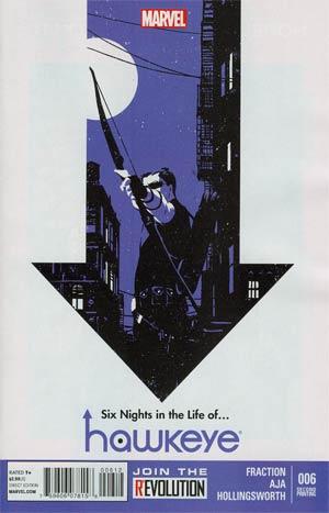 Hawkeye Vol 4 #6 2nd Ptg David Aja Variant Cover