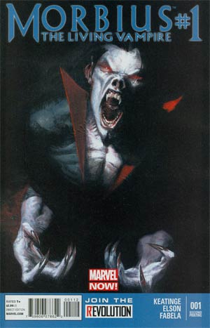 Morbius The Living Vampire Vol 2 #1 2nd Ptg Gabriele Dell Otto Variant Cover