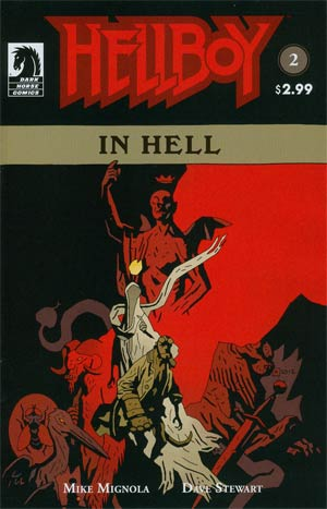 Hellboy In Hell #2 2nd Ptg