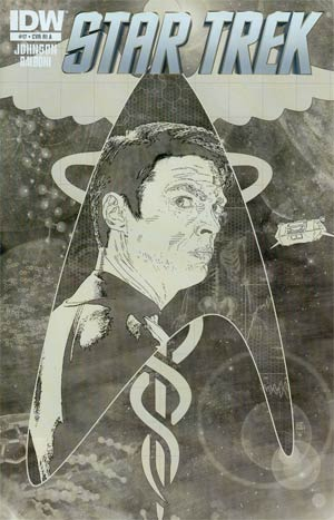 Star Trek (IDW) #17 Incentive Tim Bradstreet Sketch Cover
