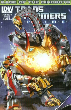 Transformers Prime Rage Of The Dinobots #3 Incentive Nick Roche Interconnected Variant Cover