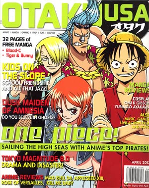 Otaku USA Vol 6 #5 Apr 2013