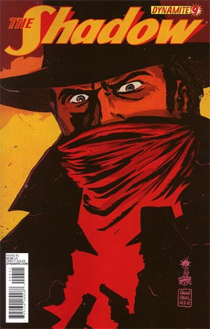 Shadow Vol 5 #9 Regular Francesco Francavilla Cover