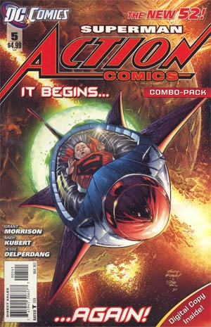 Action Comics Vol 2 #5 Cover C Combo Pack Without Polybag