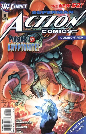 Action Comics Vol 2 #6 Cover C Combo Pack Without Polybag