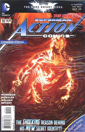 Action Comics Vol 2 #11 Cover C Combo Pack Without Polybag