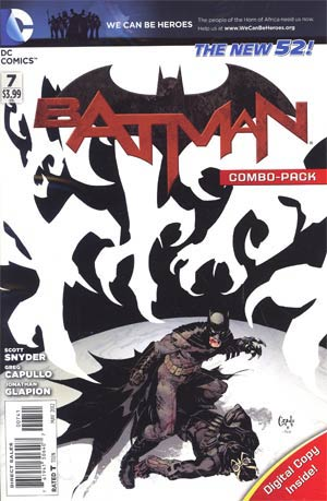 Batman Vol 2 #7 Cover D Combo Pack Without Polybag