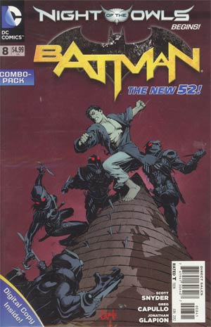Batman Vol 2 #8 Cover D Combo Pack Without Polybag