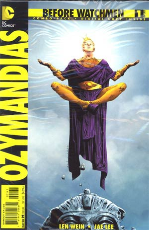 Before Watchmen Ozymandias #1 Cover D Combo Pack Without Polybag