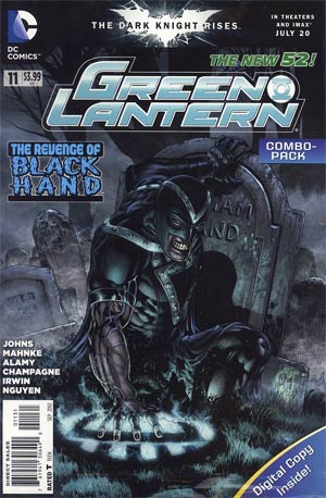 Green Lantern Vol 5 #11 Combo Pack Without Polybag