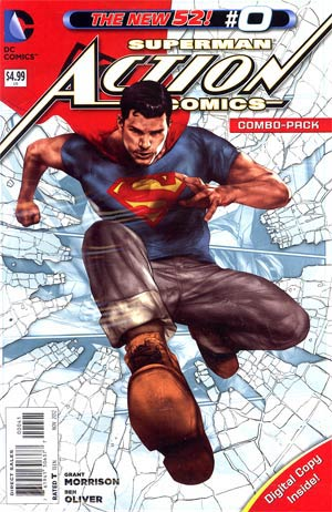 Action Comics Vol 2 #0 Cover C Combo Pack Without Polybag
