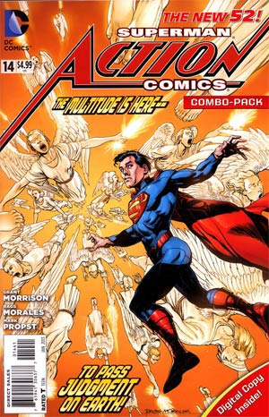 Action Comics Vol 2 #14 Cover C Combo Pack Without Polybag