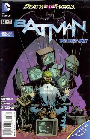 Batman Vol 2 #14 Cover D Combo Pack Without Polybag (Death Of The Family Tie-In)