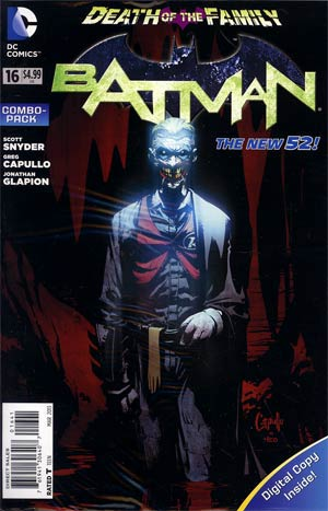 Batman Vol 2 #16 Cover D Combo Pack Without Polybag (Death Of The Family Tie-In)