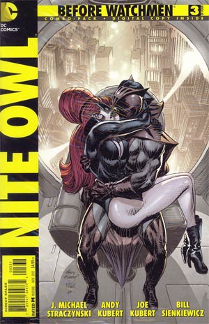 Before Watchmen Nite Owl #3 Cover D Combo Pack Without Polybag