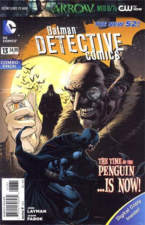 Detective Comics Vol 2 #13 Combo Pack Without Polybag