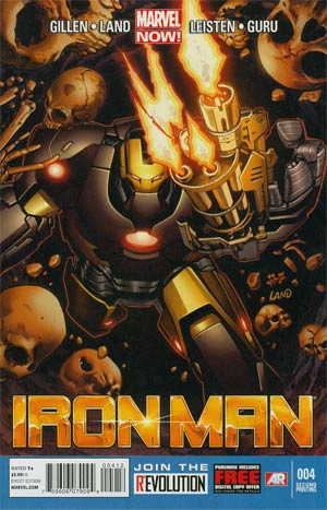 Iron Man Vol 5 #4 Cover D 2nd Ptg Greg Land Variant Cover