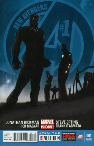 New Avengers Vol 3 #1 2nd Ptg Steve Epting Variant Cover
