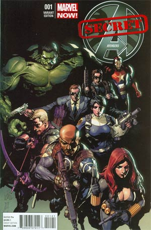 Secret Avengers Vol 2 #1 Incentive Leinil Francis Yu Variant Cover