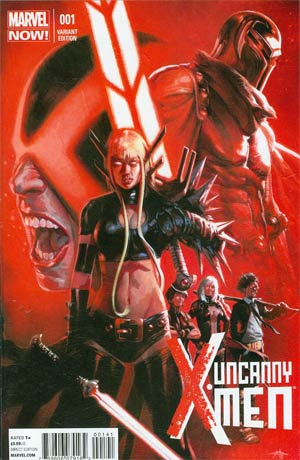 Uncanny X-Men Vol 3 #1 Incentive Gabriele Dell Otto Variant Cover