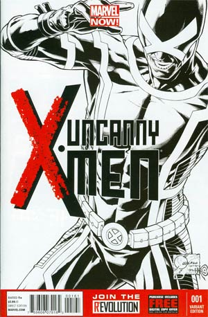 Uncanny X-Men Vol 3 #1 Cover F Incentive Joe Quesada Sketch Cover