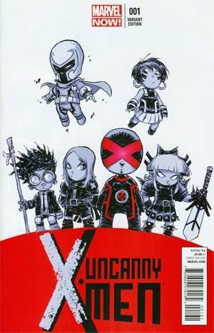 Uncanny X-Men Vol 3 #1 Cover C Variant Skottie Young Baby Cover