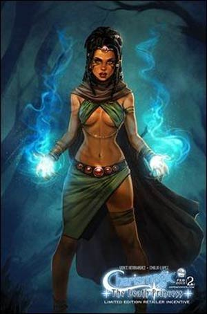 Charismagic Death Princess #2 Cover C Incentive Siya Oum