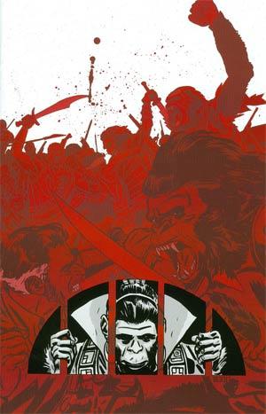 Planet Of The Apes Vol 3 Special #1 Incentive Paul Azaceta Virgin Variant Cover