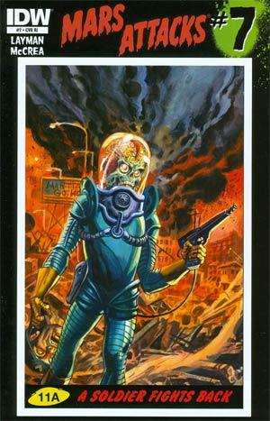 Mars Attacks Vol 3 #7 Incentive Dan Brereton Variant Cover