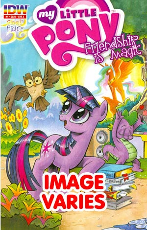 DO NOT USE (DUPLICATE LISTING) My Little Pony Friendship Is Magic #1 4th Ptg (Filled Randomly With 1 Of 6 Covers)