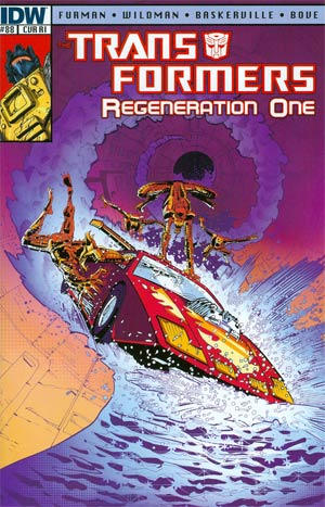 Transformers Regeneration One #88 Incentive Geoff Senior Variant Cover