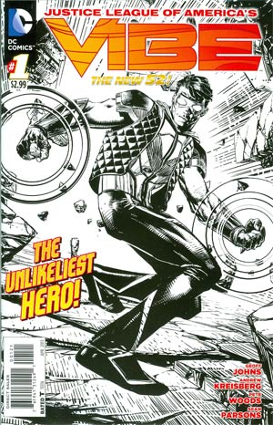 Justice League Of Americas Vibe #1 Incentive Pete Woods Sketch Cover