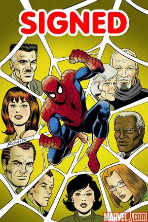 Amazing Spider-Man Vol 2 #600 Incentive John Romita Sr Variant Cover DF Signed By John Romita Sr & John Romita Jr