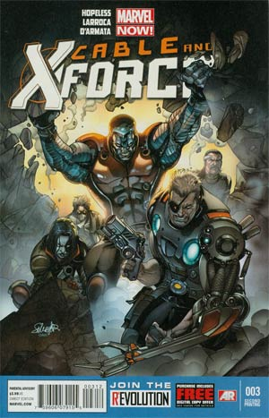 Cable And X-Force #3 Cover C 2nd Ptg Salvador Larroca Variant Cover
