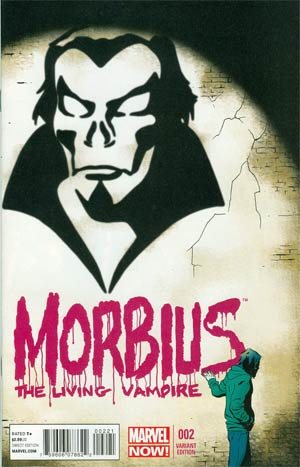 Morbius The Living Vampire Vol 2 #2 Incentive Marcos Martin Variant Cover