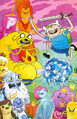 Adventure Time #13 Cover D Incentive Mike Bertino Virgin Variant Cover