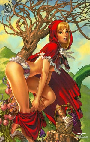 Grimm Fairy Tales Myth & Legends #25 Black Diamond Exclusive E-Bas Variant Cover