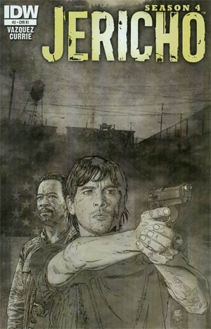 Jericho Season 4 #2 Incentive Tim Bradstreet Sketch Cover
