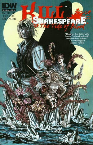 Kill Shakespeare Tide Of Blood #1 Incentive Andy Belanger Variant Cover